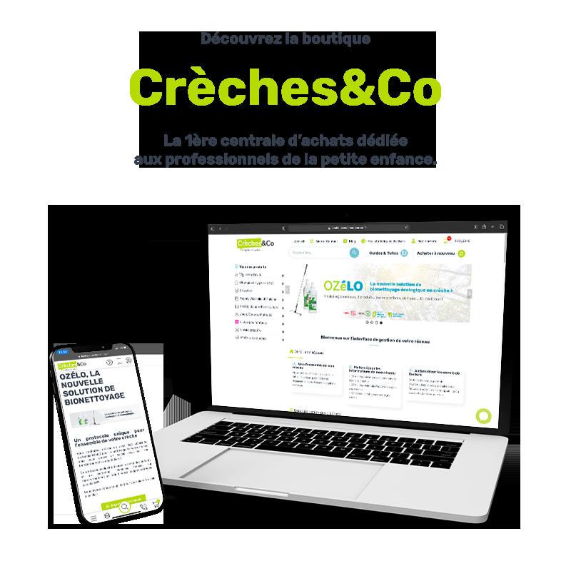 Découvrez la boutique Crèches&Co, le fournisseur dédié aux professionnels de la petite enfance
