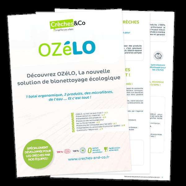 Guide du protocole d'entretien OZéLO